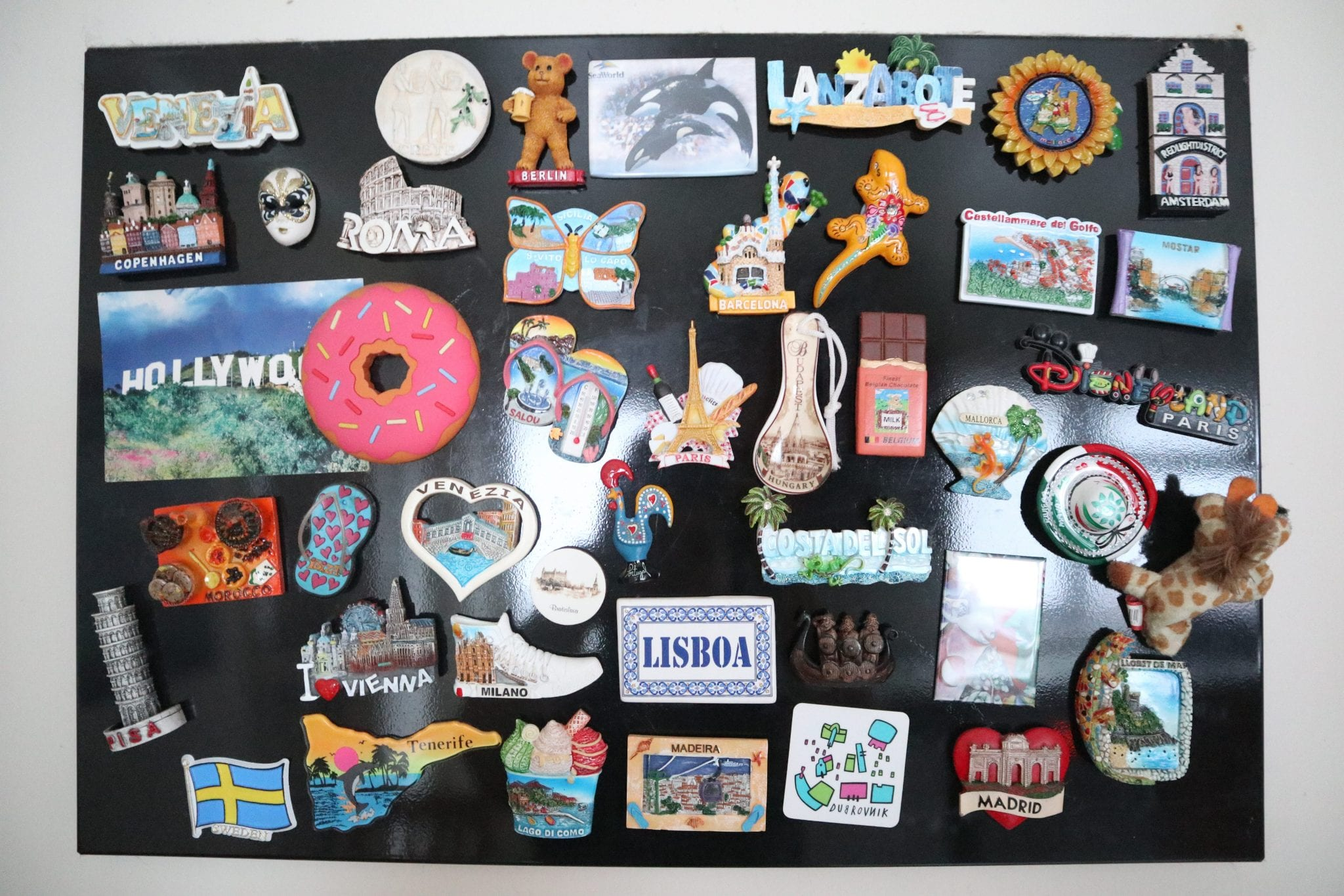 Souvenirs and Travel Memories