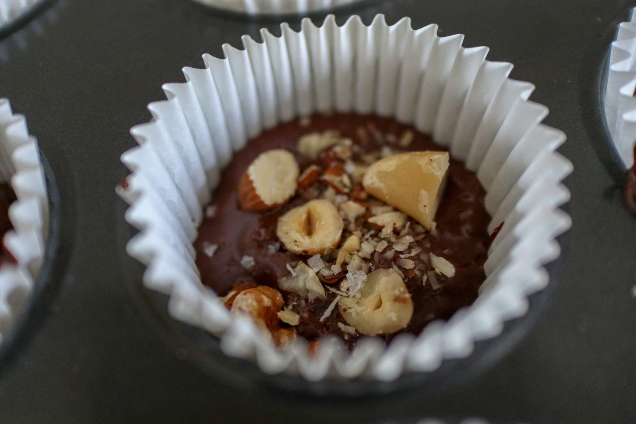 10 Minute Peanut Butter Nut Cups