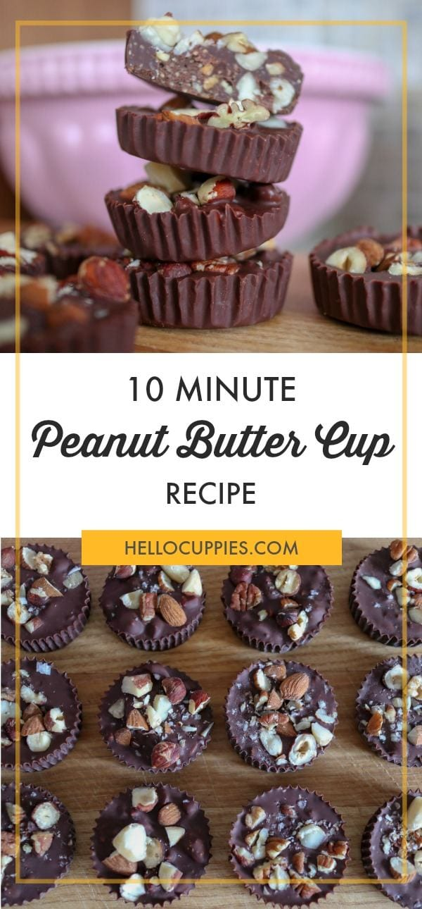 10 Minute Peanut Butter Cups