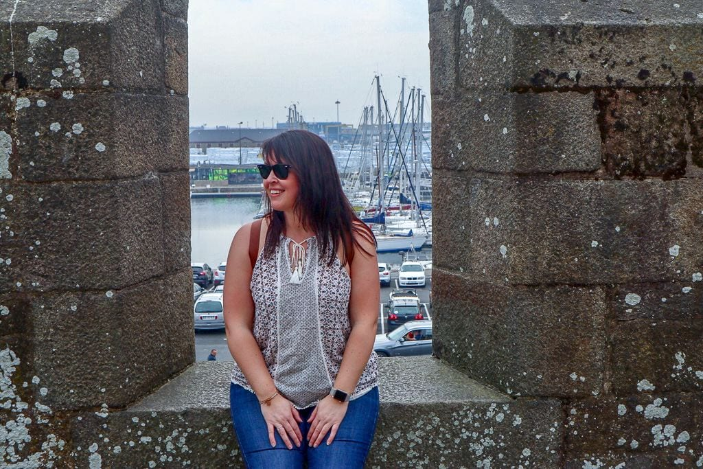 A Day in Saint Malo, France
