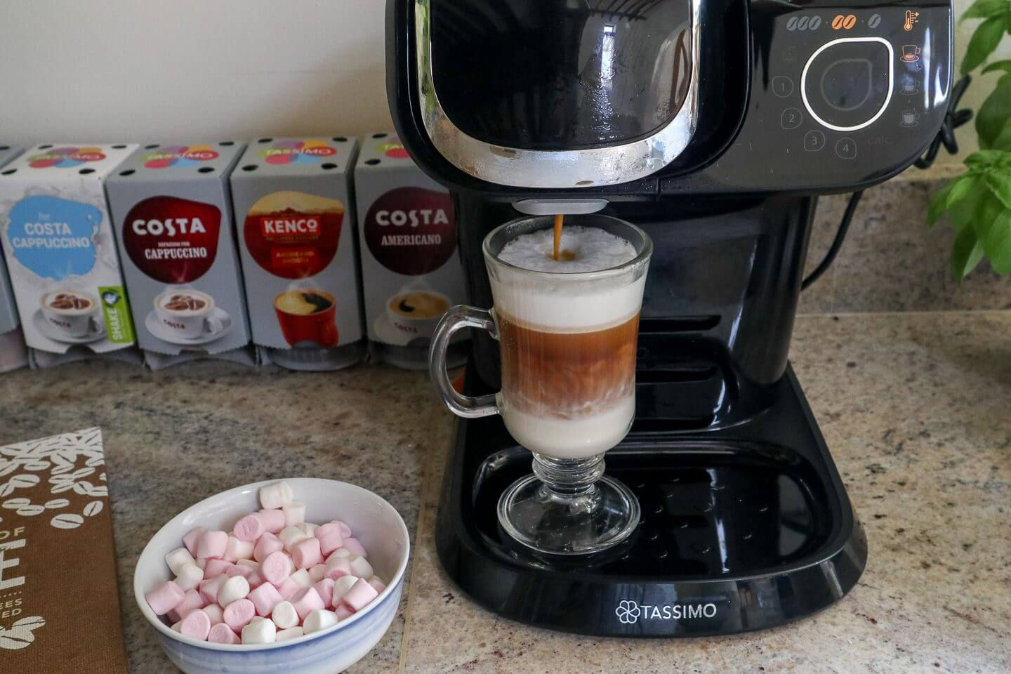 Coffee & Cake with Tassimo