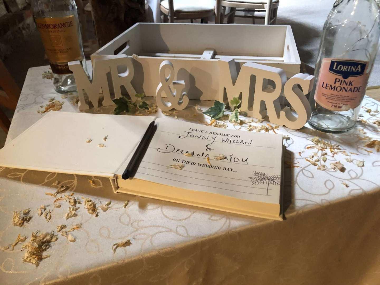 A Wedding Cake at Combe Manor Barn