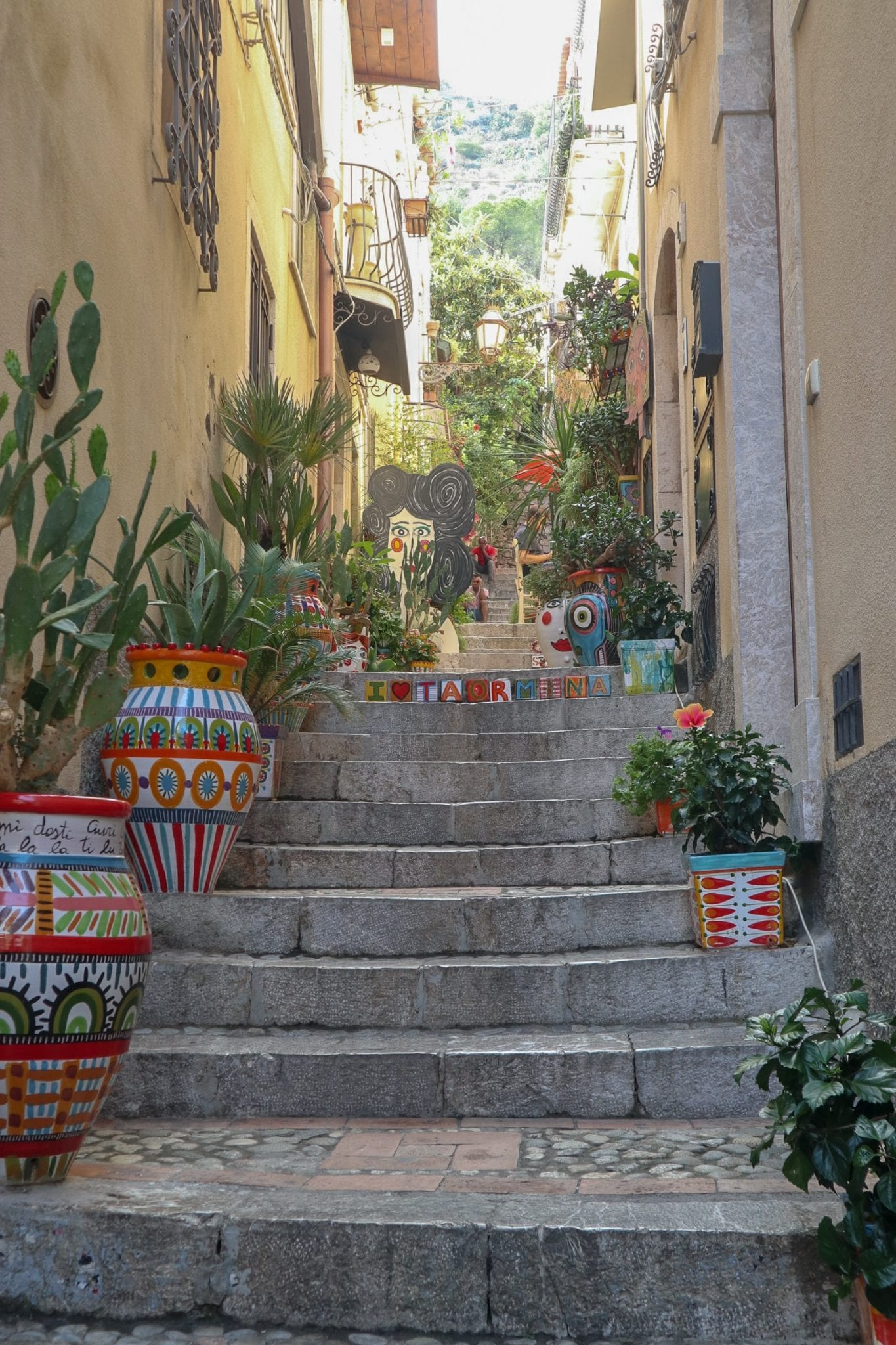 An Afternoon in Taormina, Sicily