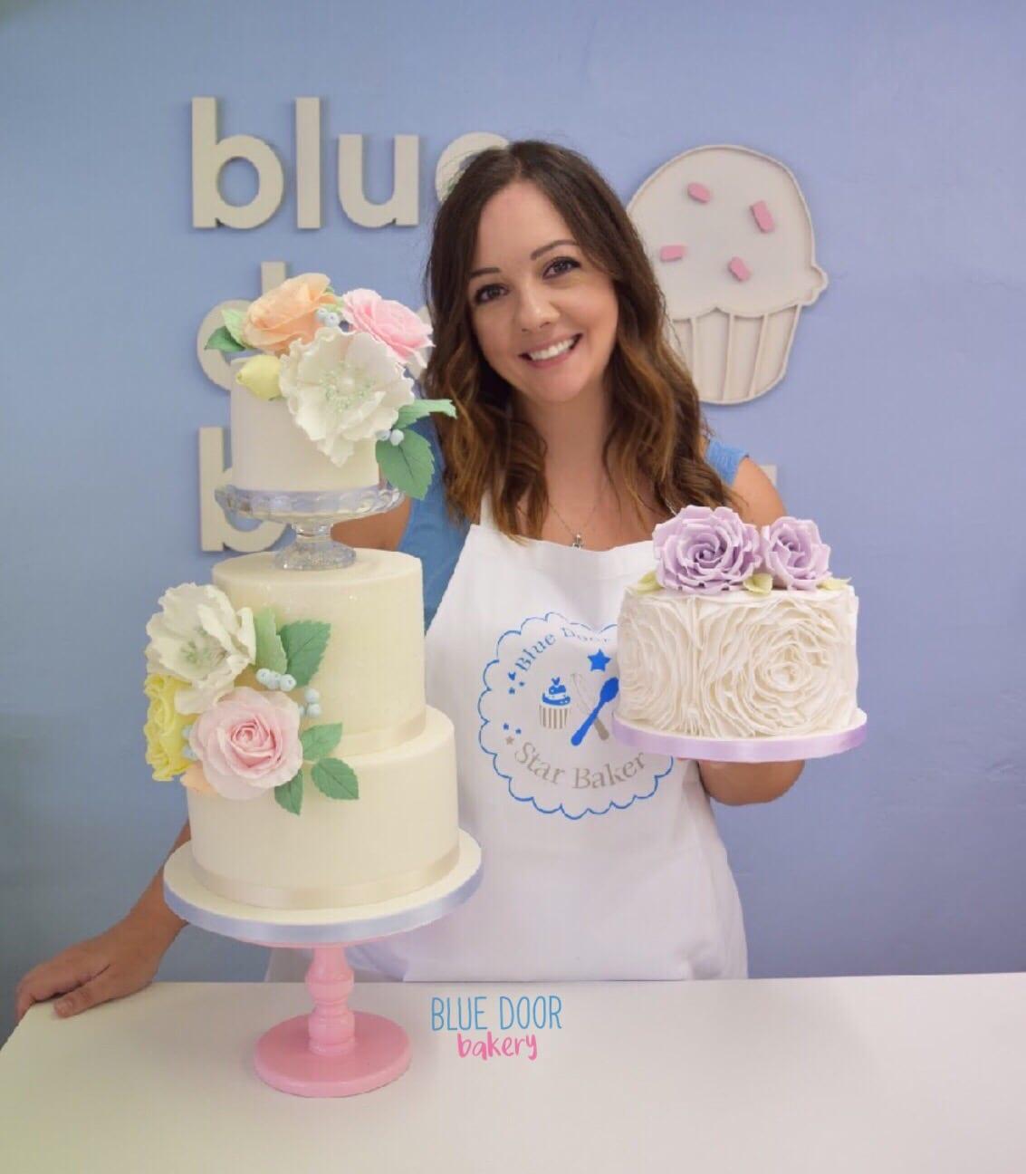 Dani from Blue Door Bakery in Redditch near Birmingham.