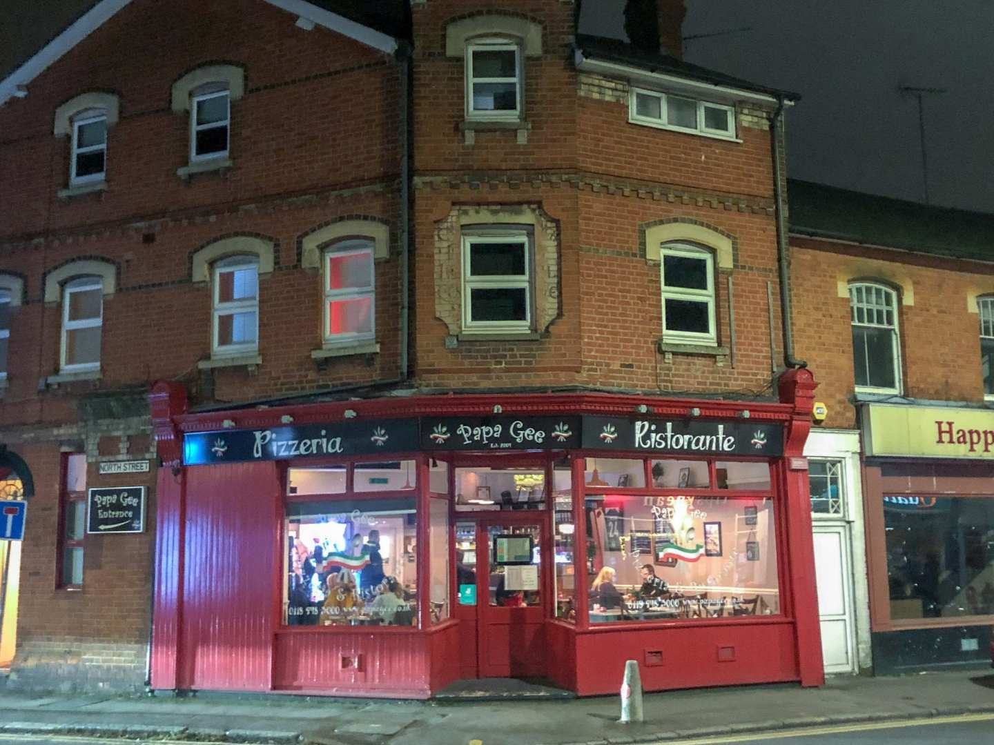 Papa Gee's Restaurant Review, Reading