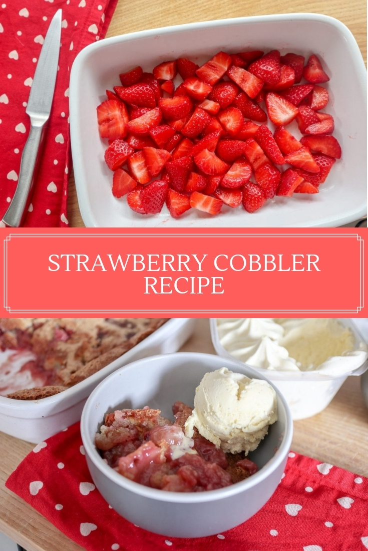 Strawberry Cobbler pin