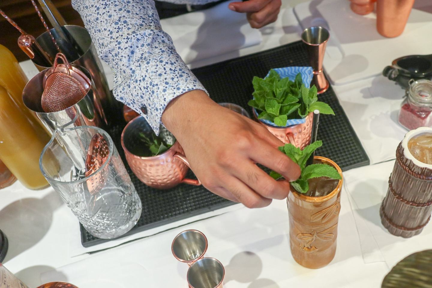 A Cocktail Masterclass at L'Ortolan, Reading
