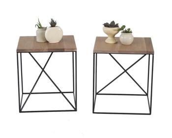 Children's Furniture Geometric Side Table.