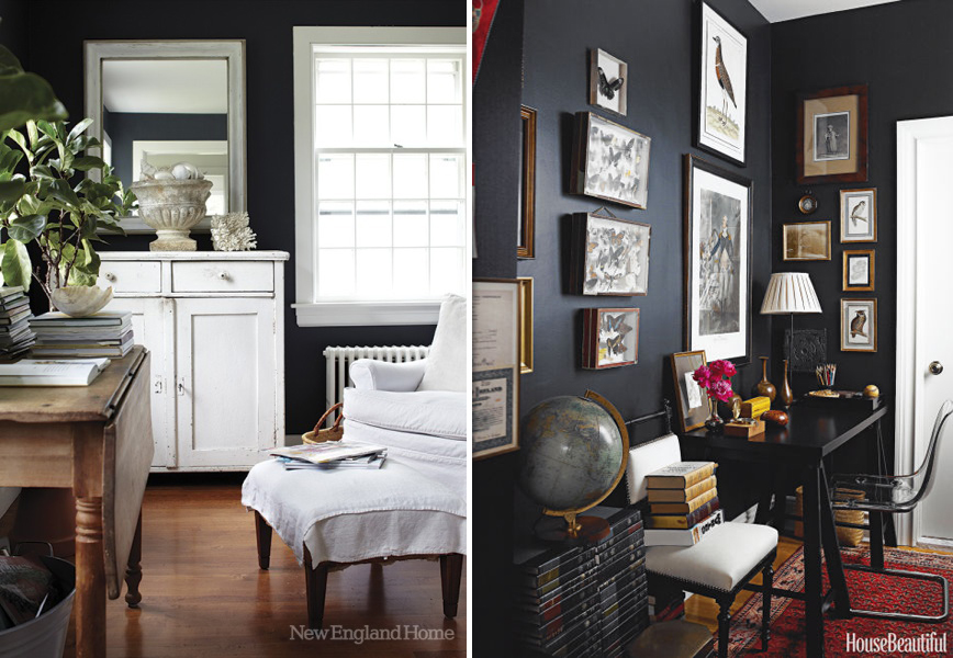 rustic paint colors for living rooms wayfair room sets 5 reasons to love dark walls - hello farmhouse