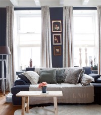 Hello Navy! Colors for a Moody Living Room - Hello Farmhouse