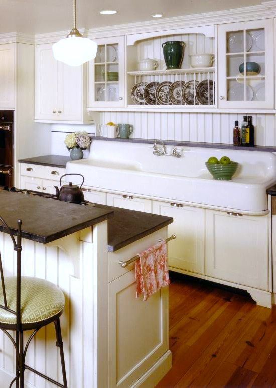 farmhouse kitchen sinks trash cans for where to find a vintage style sink - hello