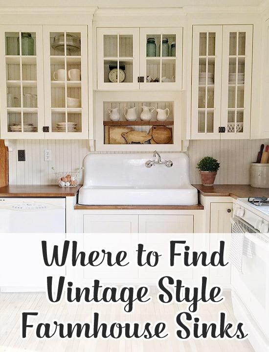 single bowl cast iron kitchen sink gray table where to find a vintage style farmhouse - hello