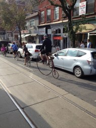 The Tweed Ride. Only in Toronto.