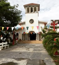 A little church in Puerto Morelos