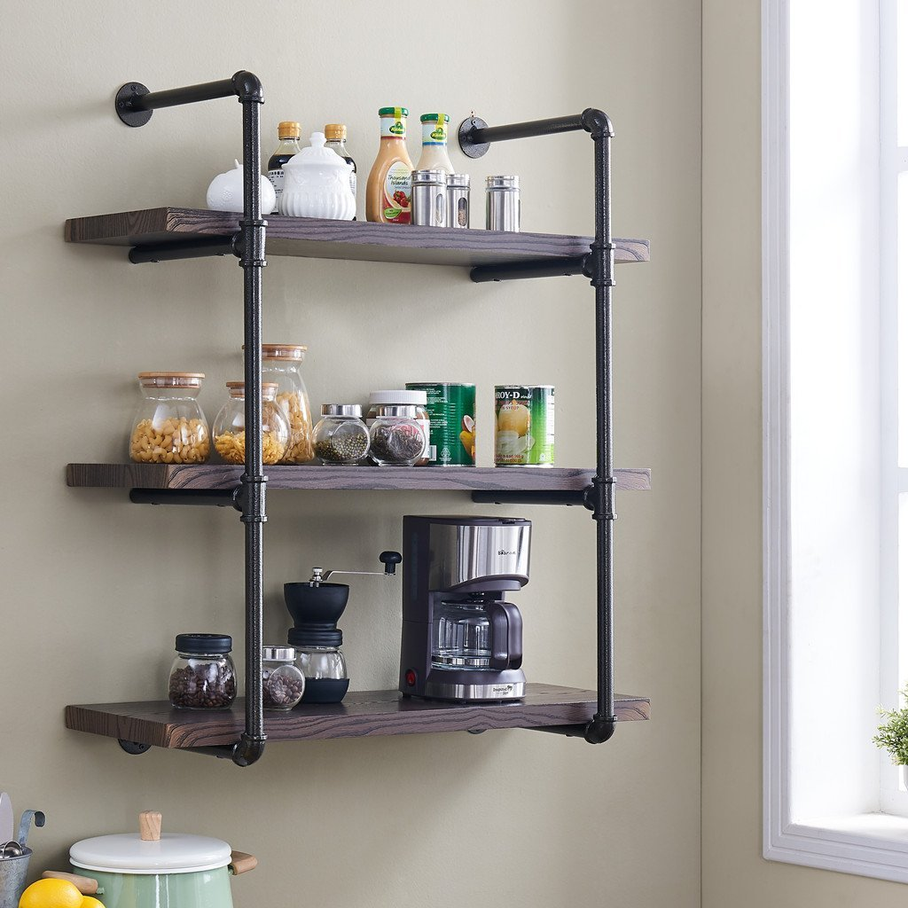 kitchen wall shelf cost of painting cabinets best shelves top 10 mounted storage
