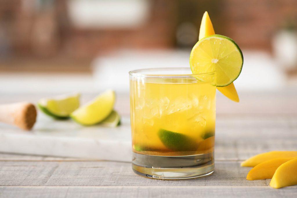 caipirinha drink-Brazil-mango-lime-HelloFresh