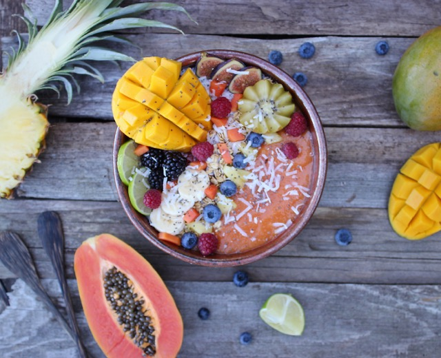 tropical-smoothie bowl challenge-HelloFresh
