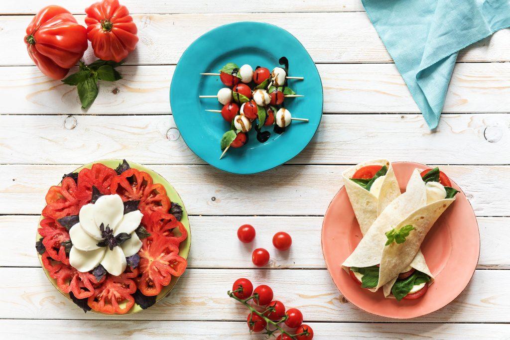 easy potluck recipes-Caprese-Salad-HelloFresh