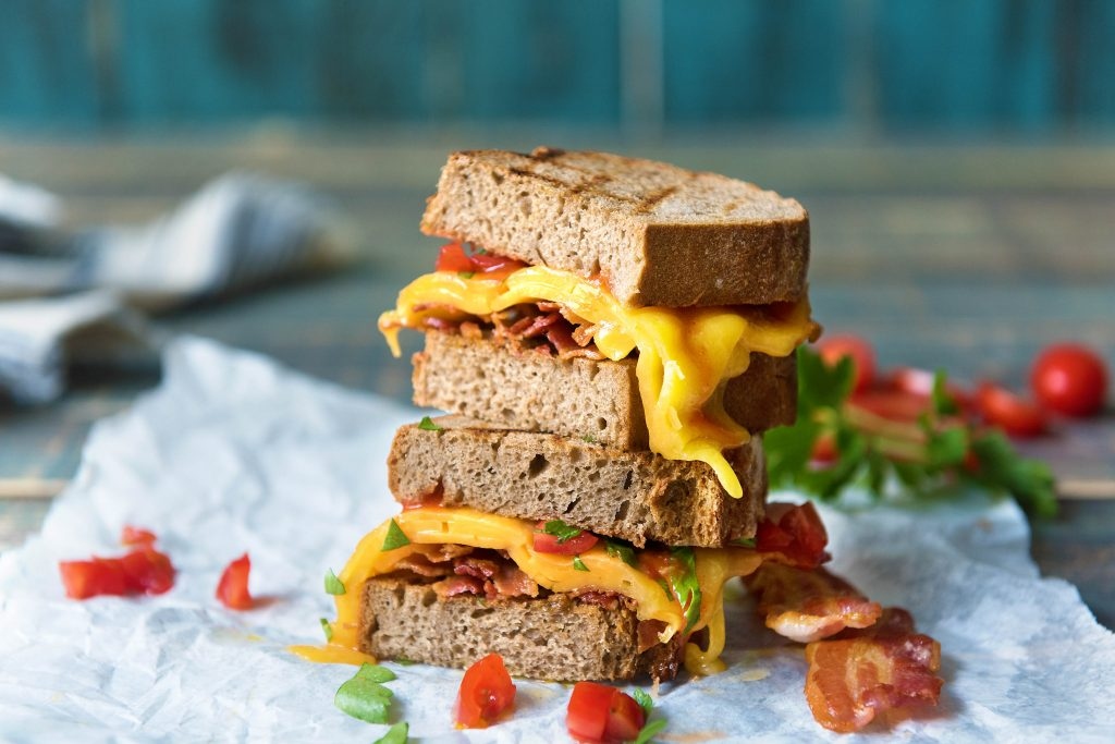 cheese-bacon sandwich-recipe-HelloFresh