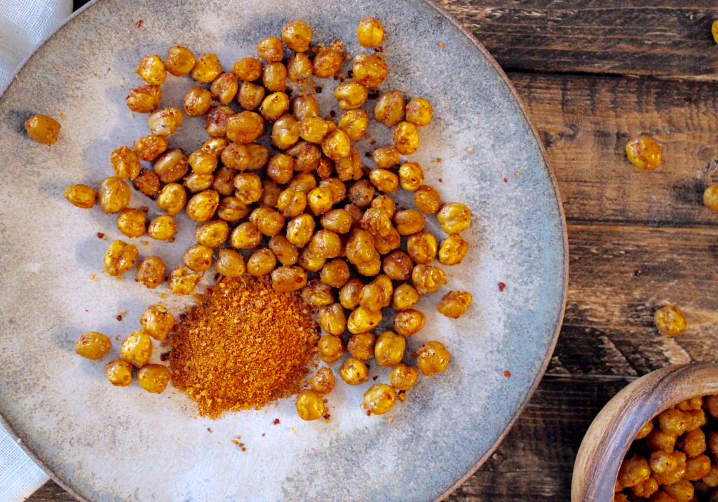healthy lunch ideas for kids-adults-crispy-roasted-chickpeas-HelloFresh