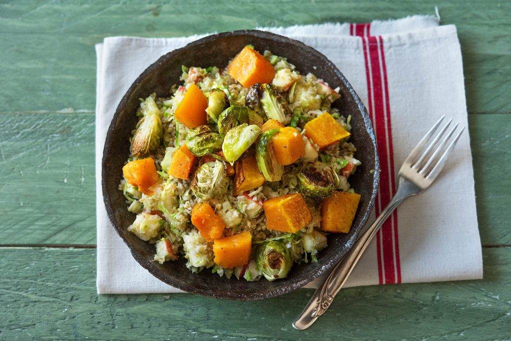 recipes with apples-freekeh-salad-HelloFresh