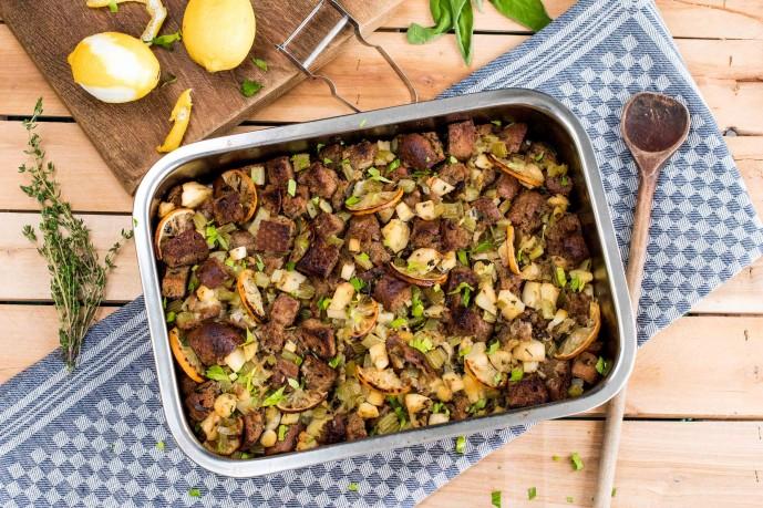 Best Thanksgiving Sides-HelloFresh-traditional-stuffing