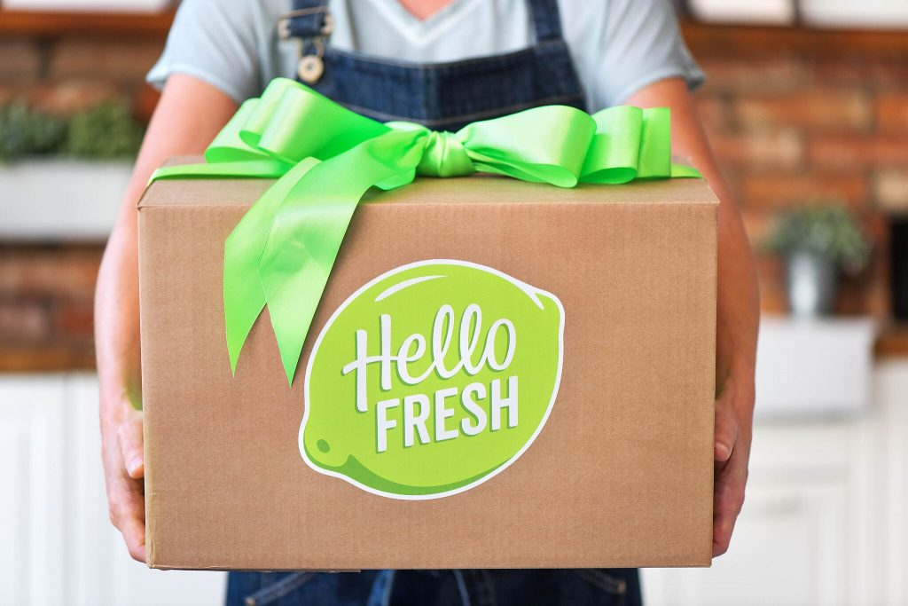 holiday gift guide-HelloFresh