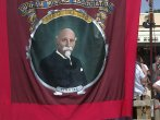 My Great-Great-Uncle's Banner at Durham miniers gala