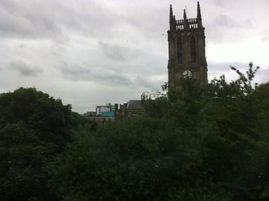 back in Leeds