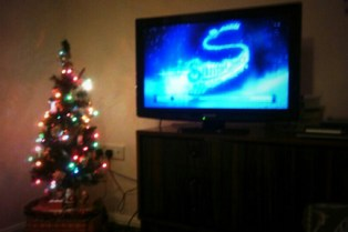 My favourite Xmas film and the 30 year old tree
