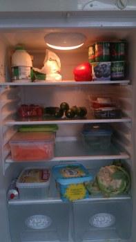A healthier stocked fridge