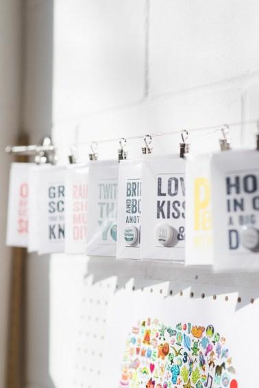 Hello Geronimo design studio typography cockney rhyming cards