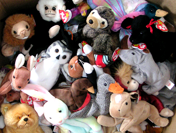 Couple bought a Beanie Baby for cheap and just discovered