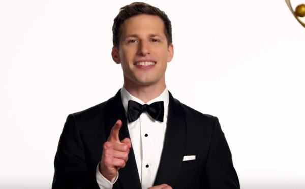 Andy Samberg Excited