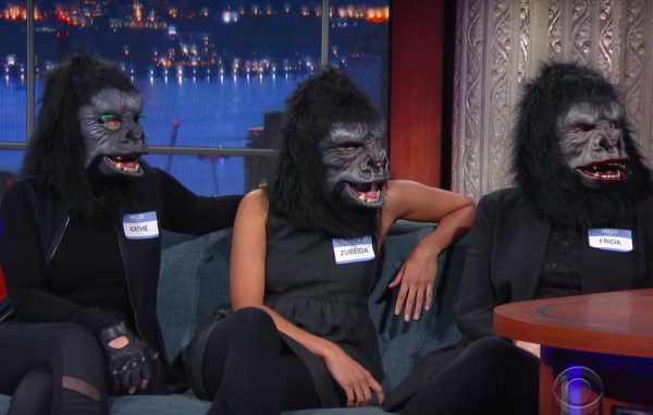Guerrilla Girls Stopped ' Late Show' Fight