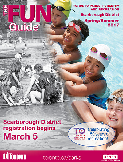 Registration for city of toronto spring and summer programs.