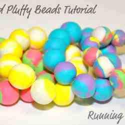DIY Pluffy Bead Bracelets