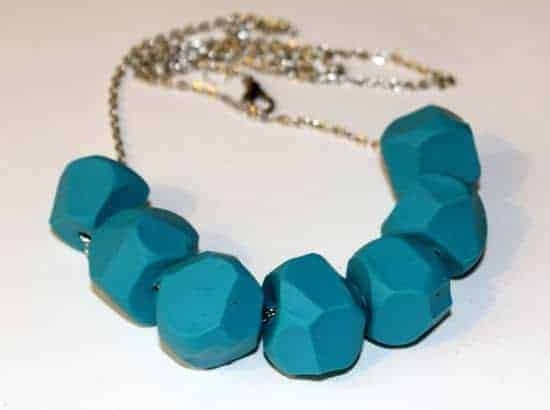 DIY Clay Necklace | HelloGlow.co