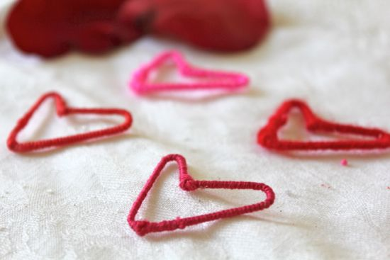 DIY Paper Clip Heart Earrings | HelloGlow.co