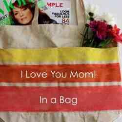 "DIY ""I Love You Mom"" in a Bag"