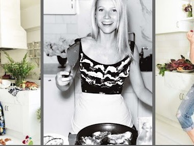 Cooking with Gwyneth Paltrow