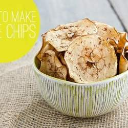 How To Make Your Own Apple Chips