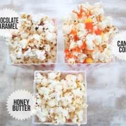 Homemade Popcorn 3 Ways