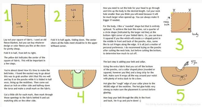 Poncho Directions