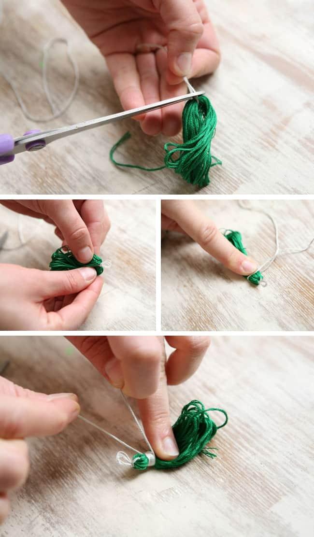 tassel earring tutorial