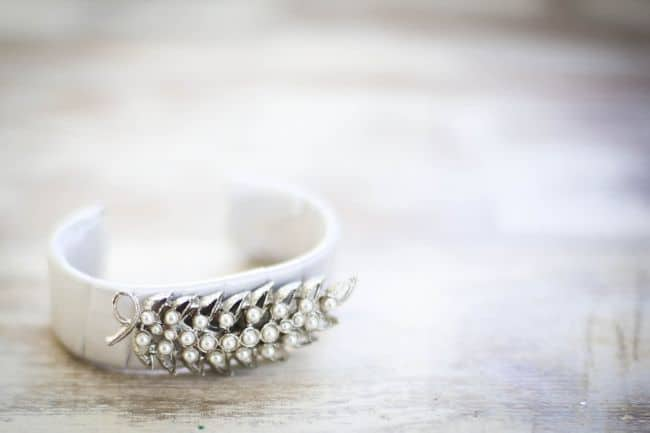 DIY Brooch Bracelet