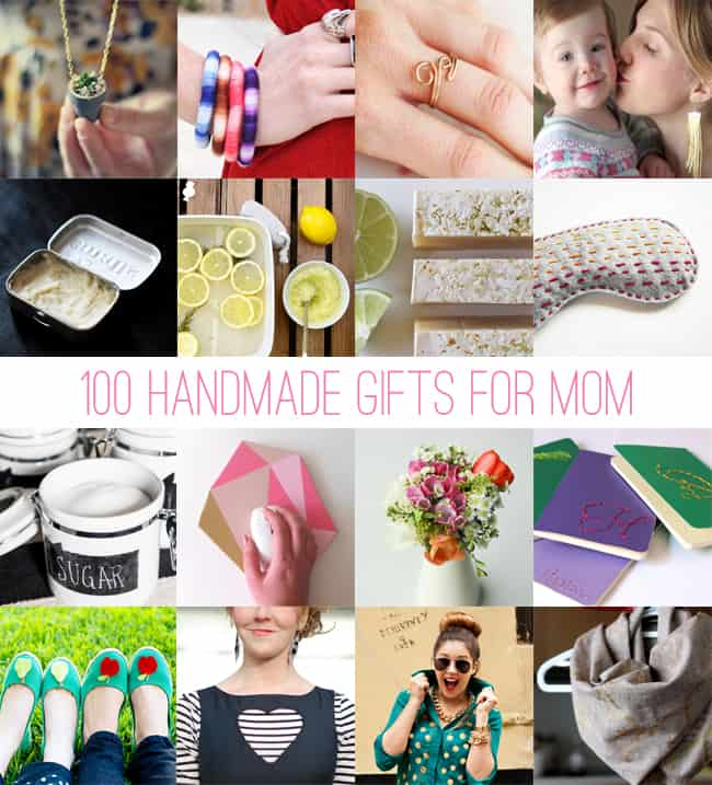 100 Handmade Gifts for Mom | HelloGlow.co