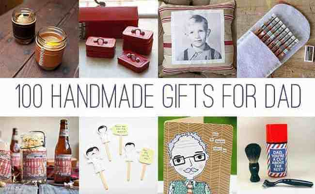 100 Handmade Gifts For Dad Hello Glow