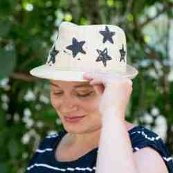 DIY Star Stamp Fedora