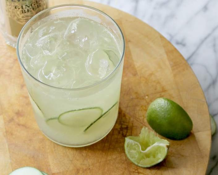 Cucumber Moscow Mule | 50 Low-Cal Cocktails